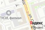 Схема проезда до компании Ник-тур в Нижнем Новгороде