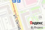 Схема проезда до компании Сервисный центр в Нижнем Новгороде