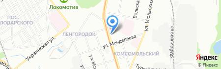 Растяпино на карте Нижнего Новгорода