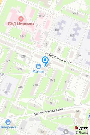 Дом по ул. Даргомыжского у дома 6, ЖК Каскад на Даргомыжского на Яндекс.Картах