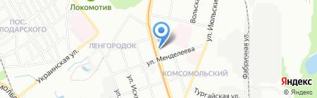 Русская птица на карте Нижнего Новгорода