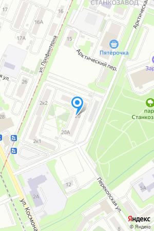 Дом 20 по ул. Арктическая, ЖК Заречный на Яндекс.Картах