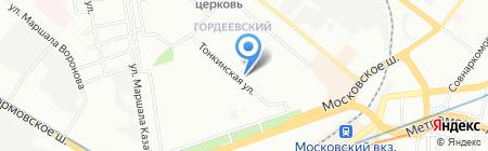 Золотой ключик на карте Нижнего Новгорода