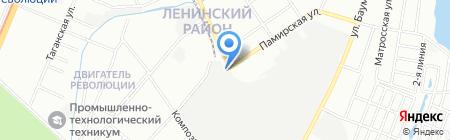 АвтоBox на карте Нижнего Новгорода