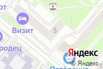 Схема проезда до компании Мистер Фогг и Паспарту в Нижнем Новгороде