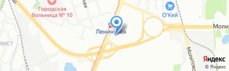 Железнодорожный страховой фонд на карте Нижнего Новгорода