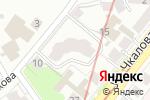 Схема проезда до компании ПРОФИКОЛОР в Нижнем Новгороде
