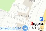Схема проезда до компании ТеплоСервис52-НН в Нижнем Новгороде