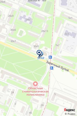 ФИРМА АВТОЗАВОДСТРОЙ ПЛЮС на карте Нижнего Новгорода