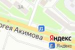 Схема проезда до компании Росинка в Нижнем Новгороде