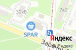 Схема проезда до компании Пивас в Нижнем Новгороде