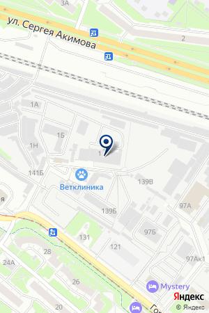 НИТЕКС-СПЕЦОДЕЖДА на карте Нижнего Новгорода