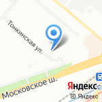 СтальПласт на карте Нижнего Новгорода