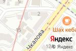 Схема проезда до компании Все для электромонтажа в Нижнем Новгороде