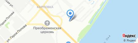 Lumber на карте Нижнего Новгорода