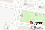 Схема проезда до компании Техэксперт в Нижнем Новгороде