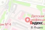 Схема проезда до компании Детская инфекционная больница №8 в Нижнем Новгороде