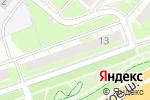 Схема проезда до компании 7 пятницъ в Нижнем Новгороде