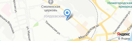 Open на карте Нижнего Новгорода