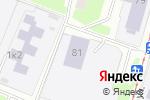 Схема проезда до компании СДЮСШОР №7 по баскетболу в Нижнем Новгороде