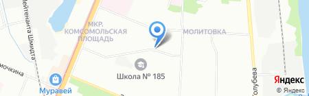Зодиак на карте Нижнего Новгорода