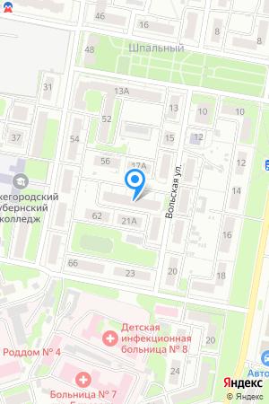 Дом в квартале улиц Вольская-Витебская на Яндекс.Картах