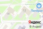 Схема проезда до компании IT Help в Нижнем Новгороде