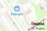 Схема проезда до компании Три пескаря в Нижнем Новгороде