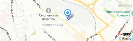 СтройДок на карте Нижнего Новгорода