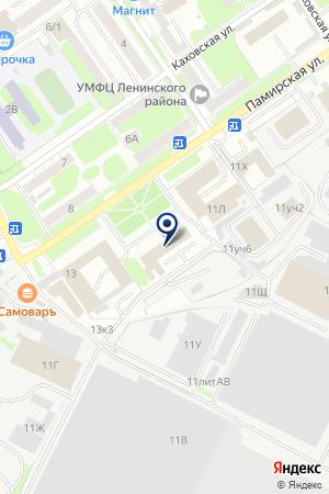 ОХРАННОЕ ПРЕДПРИЯТИЕ ПРОФИ на карте Нижнего Новгорода