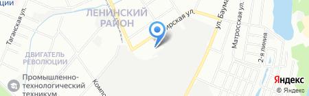 Комбета-Н на карте Нижнего Новгорода