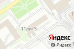 Схема проезда до компании Капитал-Сервис в Нижнем Новгороде