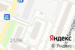 Схема проезда до компании НижегородЭнергоГазРасчет в Нижнем Новгороде