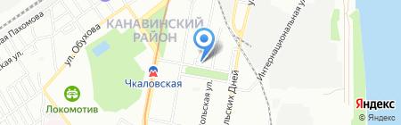 Райцентр на карте Нижнего Новгорода