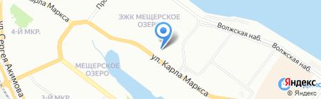 Продукты 24 часа на карте Нижнего Новгорода
