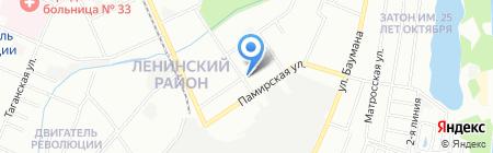 Флора на карте Нижнего Новгорода