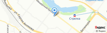 КРЕПЕЖ-НН на карте Нижнего Новгорода