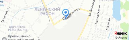 Нижегородское кольцо на карте Нижнего Новгорода