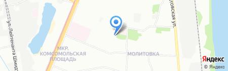 Киоск по ремонту обуви на карте Нижнего Новгорода
