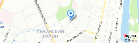 Горизонт на карте Нижнего Новгорода