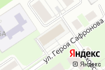 Схема проезда до компании Горизонт в Нижнем Новгороде