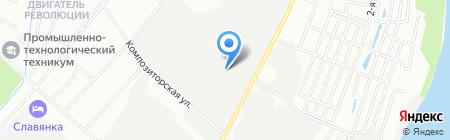 Зодчие на карте Нижнего Новгорода