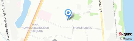 Шик на карте Нижнего Новгорода