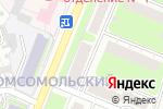 Схема проезда до компании Малина в Нижнем Новгороде