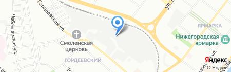 Болгарка на карте Нижнего Новгорода