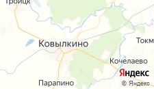 Отели города Ковылкино на карте