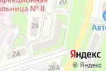 Схема проезда до компании Тутси в Нижнем Новгороде