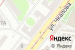 Схема проезда до компании Канцторг в Нижнем Новгороде