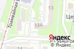 Схема проезда до компании Домашний в Нижнем Новгороде