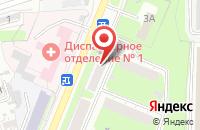 Схема проезда до компании Дарина в Нижнем Новгороде